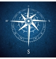 Compass road sign vector image vector image