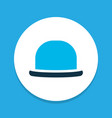 fedora icon colored symbol premium quality vector image