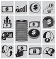 finance vector image vector image