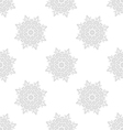 light gray seamless pattern of openwork stars vector image vector image