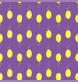 lilac yellow air balloons seamless pattern vector image
