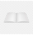 notebook icon realistic style vector image vector image