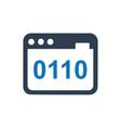 online programming programming icon vector image