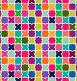 Abstract colorful mosaic pattern background vector image