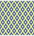abstract seamless pattern with color rhombuses vector image vector image