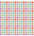 Colorful checkered tablecloths pattern vector image vector image