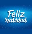 Feliz navidad typography merry christmas