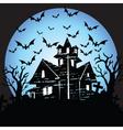 Halloween house vector image vector image