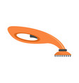 hand vacuum cleaner icon flat style vector image vector image