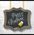 happy new year and merry christmas 2018 25 vector image