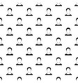 man avatar pattern seamless vector image vector image