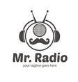 Mr Radio Logo vector image