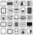 Studyflat icons vector image vector image