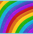 rainbow colors background cartoon background vector image