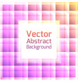 abstract background with squares vector image