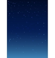 Night starry sky Vertical background vector image vector image
