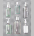 sanitizer bottles set