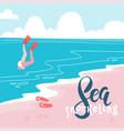 sea snorkeling- colorful flat cartoonstyle art vector image vector image