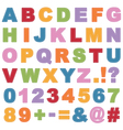 Stitched alphabet vector | Price: 1 Credit (USD $1)