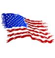 USA Flag grunge Art