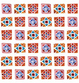 Watercolor Geometric Pattern vector image vector image