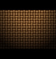 abstract brown weave texture pattern vector image