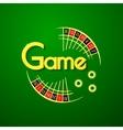 Game logo vector image vector image