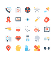 Medical Colored Icons 1 vector image vector image