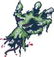 severed halloween style hand illustrat vector image vector image