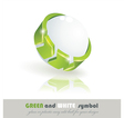 Sphere 3d design vector image vector image