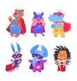 superhero animals baby superheroes vector image