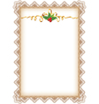 Vintage christmas page vector | Price: 1 Credit (USD $1)