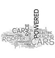 which rc car is right for you text word cloud vector image vector image