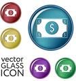 Dollar bill symbol of money vector image