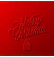 holiday frame happy merry christmas new year vector image vector image