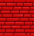red brick skew line cartoon seamless pattern vector image vector image