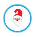 santa ho-ho-ho christmas day vector image vector image
