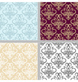 Summer seamless ethnic pattern set vector image vector image