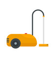 wash vacuum cleaner icon flat style vector image