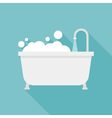 bath tub icon vector image