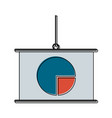 business statistics whiteboard vector image