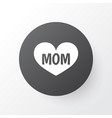mom icon symbol premium quality isolated text vector image vector image
