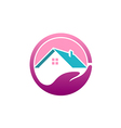 save house realty abstract logo vector image vector image