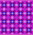 vibrant futuristic abstract geometric pattern vector image vector image