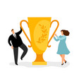 winners business concept vector image vector image