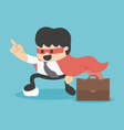 young super Businessman vector image vector image