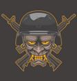 oni x military vector image