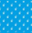 portable music speacker pattern seamless blue vector image vector image