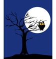 tree owl vector image