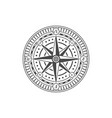 compass rose isolated on white background vector image vector image